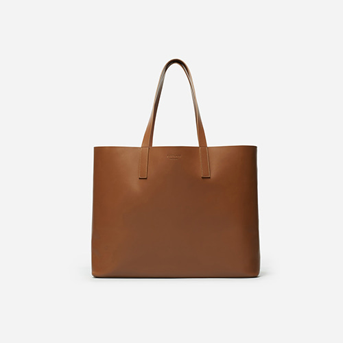 TOTE  SMOOTH SADDLE LEATHER Cognac